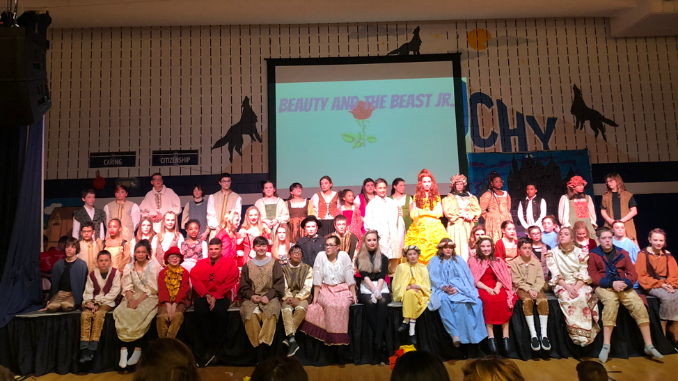 Congratulations to the Cast and Crew of Beaty and the Beast, Jr. for a phenomenal production!