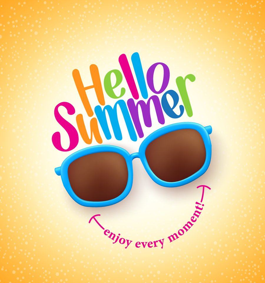 Have a great and safe summer vacation!