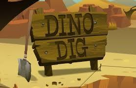 "Second Grade  ""Digs"" the Dino Dig!"